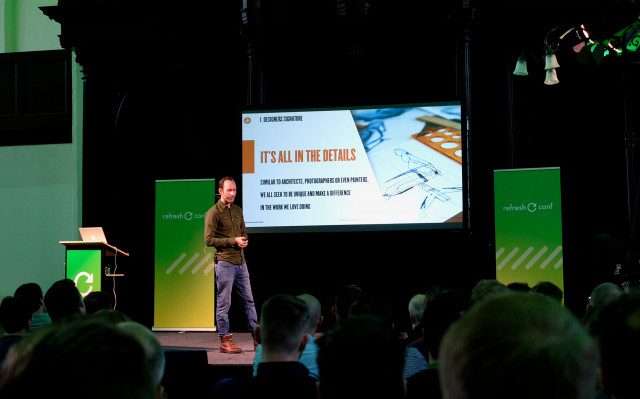 Jeroen van Eerden - Storytelling through Brand Identity Visuals - Refresh Conference 2019